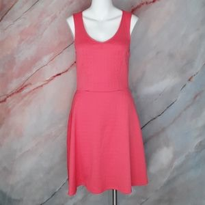 MAURICES Coral Pink Skater Dress XS